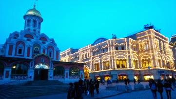 Catedrala Maicii Domnului Kazan, Piața Roșie