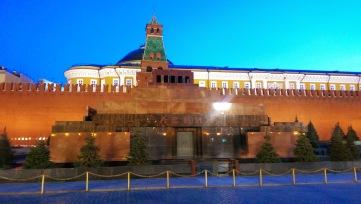 Mausoleul lui Lenin, Piața Roșie