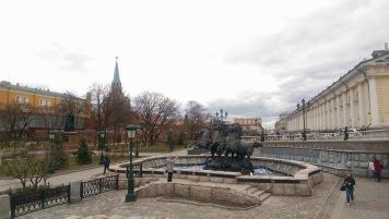 Intrarea în Kremlin