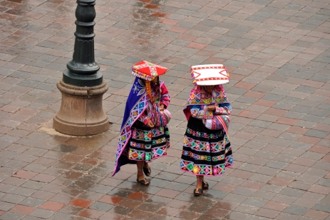 Peruvian ladies