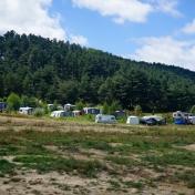 Lacul Batak, camping.