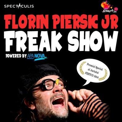 Freak-Show-cu-Florin-Piersic-JR-la-ARCUB-Afis